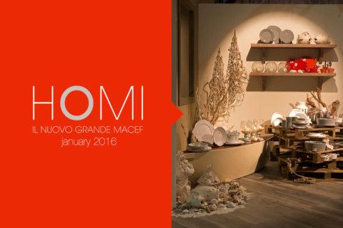 HOMI | Gennaio 2016