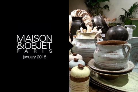 MAISON&OBJET | Gennaio 2015