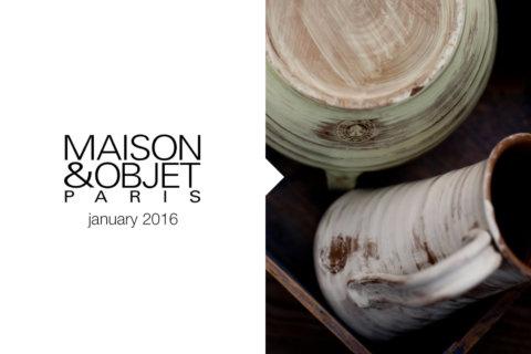 MAISON&OBJET Gennaio 2016